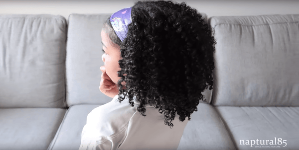 Naptural85's Quick Braid Out + Night Routine for Kids.