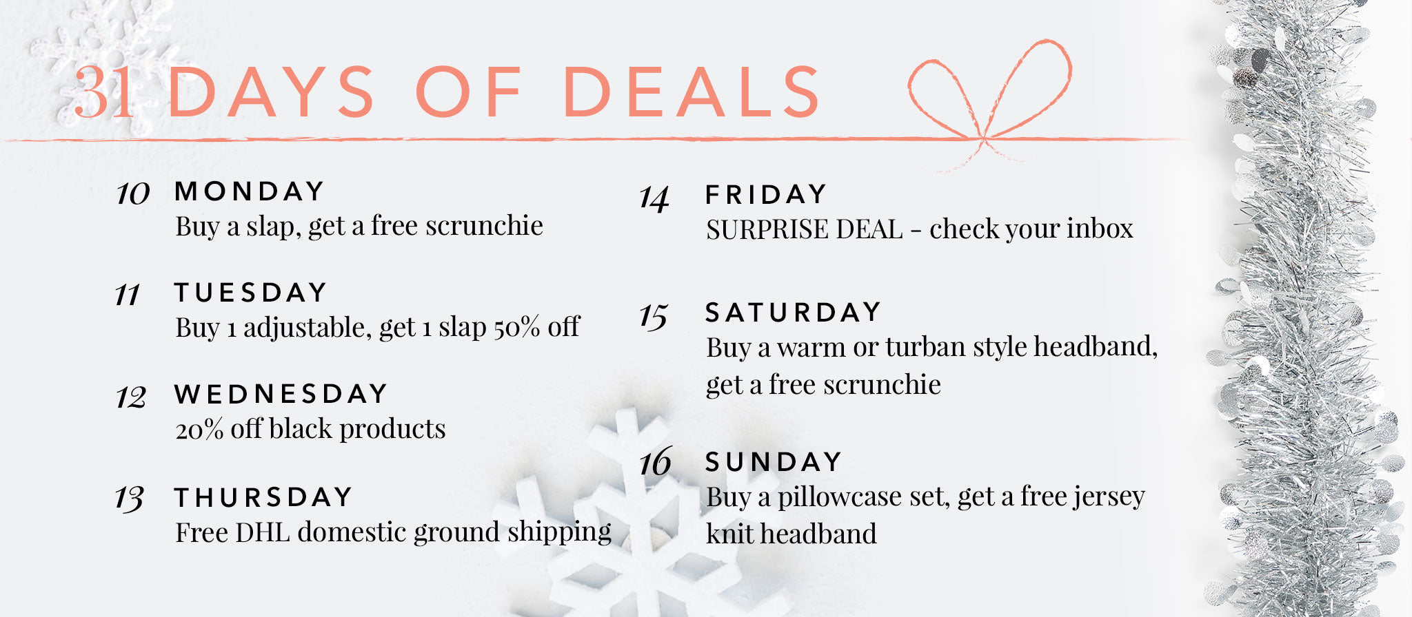 31 Days of Deals Grace Eleyae