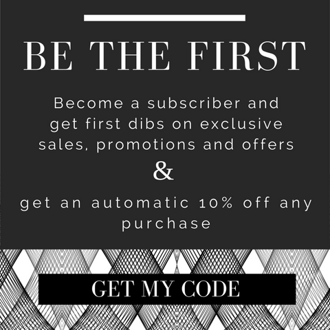 Grace Eleyae: Become a Subscriber and be the first to know about promotions, updates sales and more.