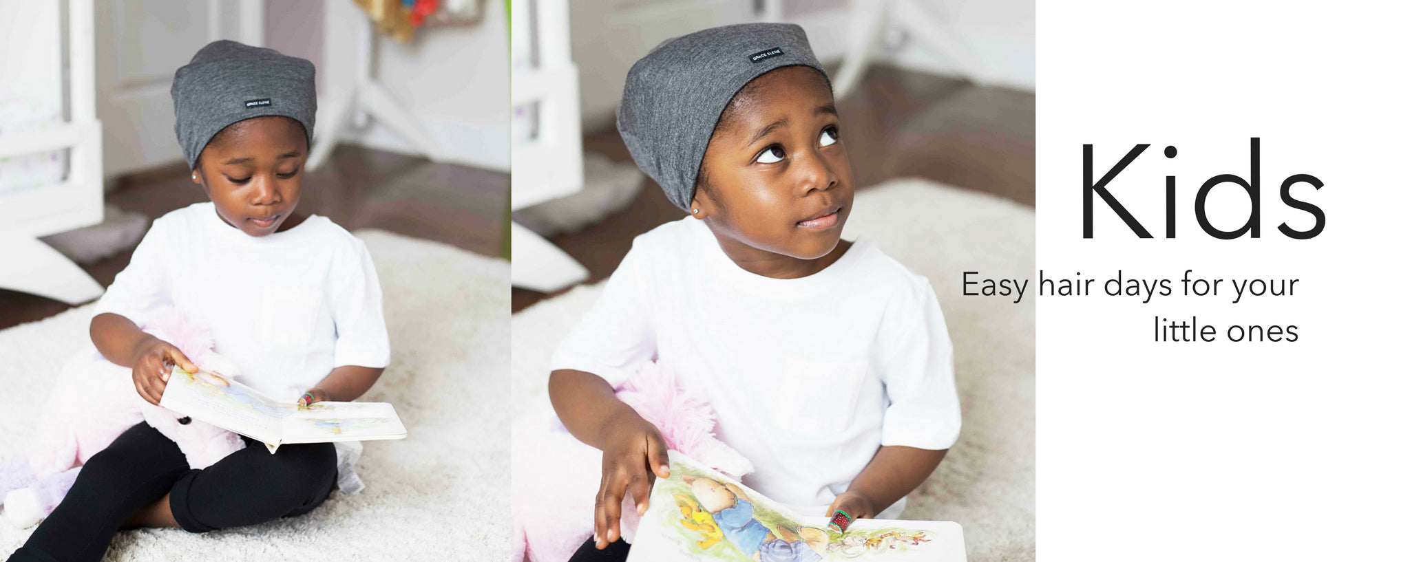 Satin Lined Caps- Kids – Grace Eleyae fbff1c2c79f