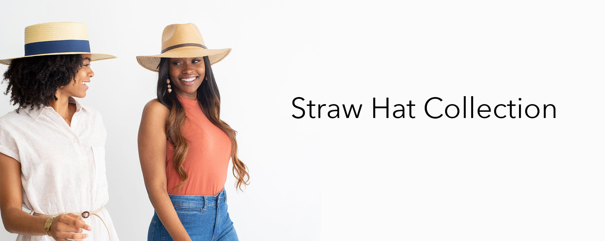 Grace Eleyae Straw Hat Collection