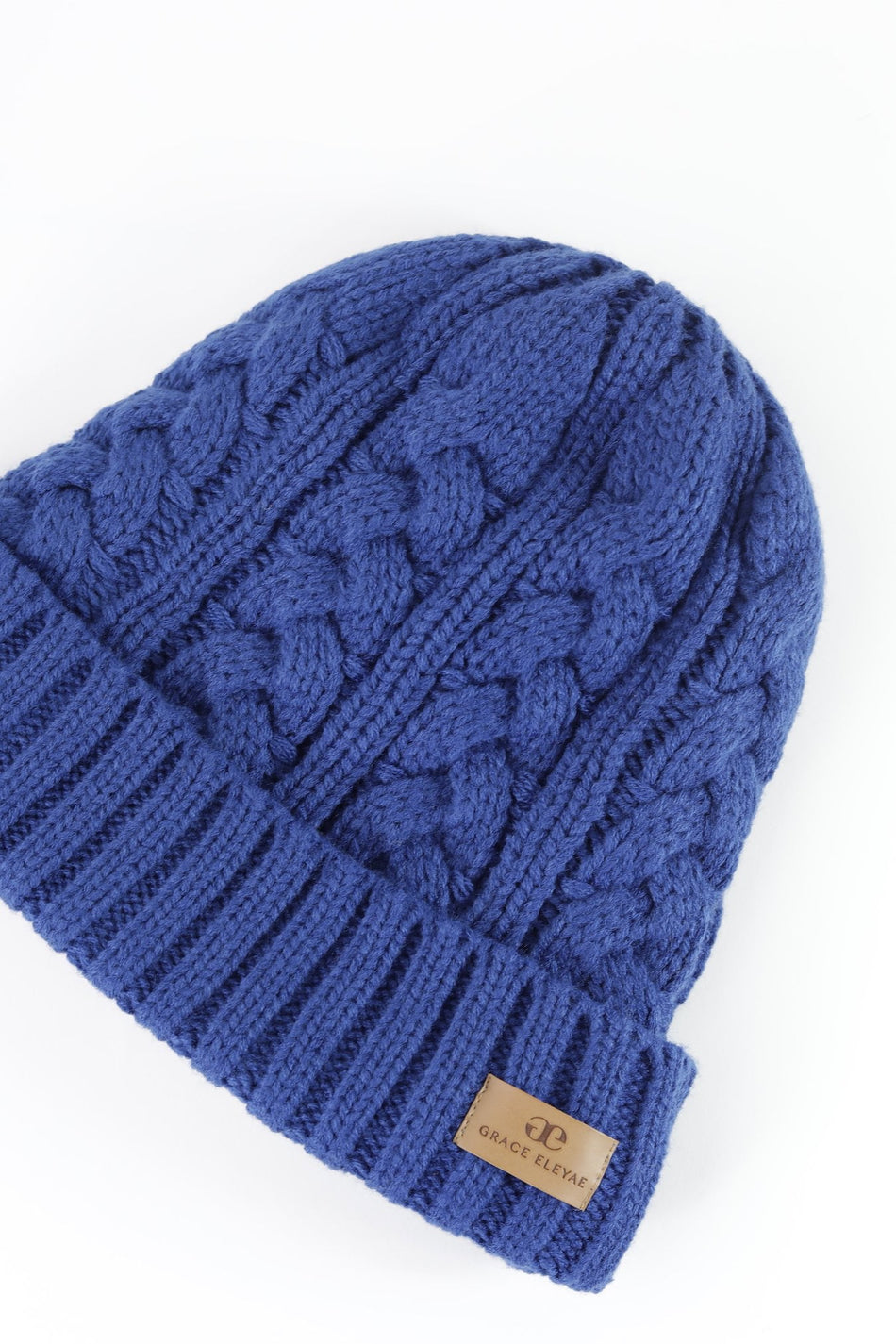 Royal Blue Foldover Warm Slap