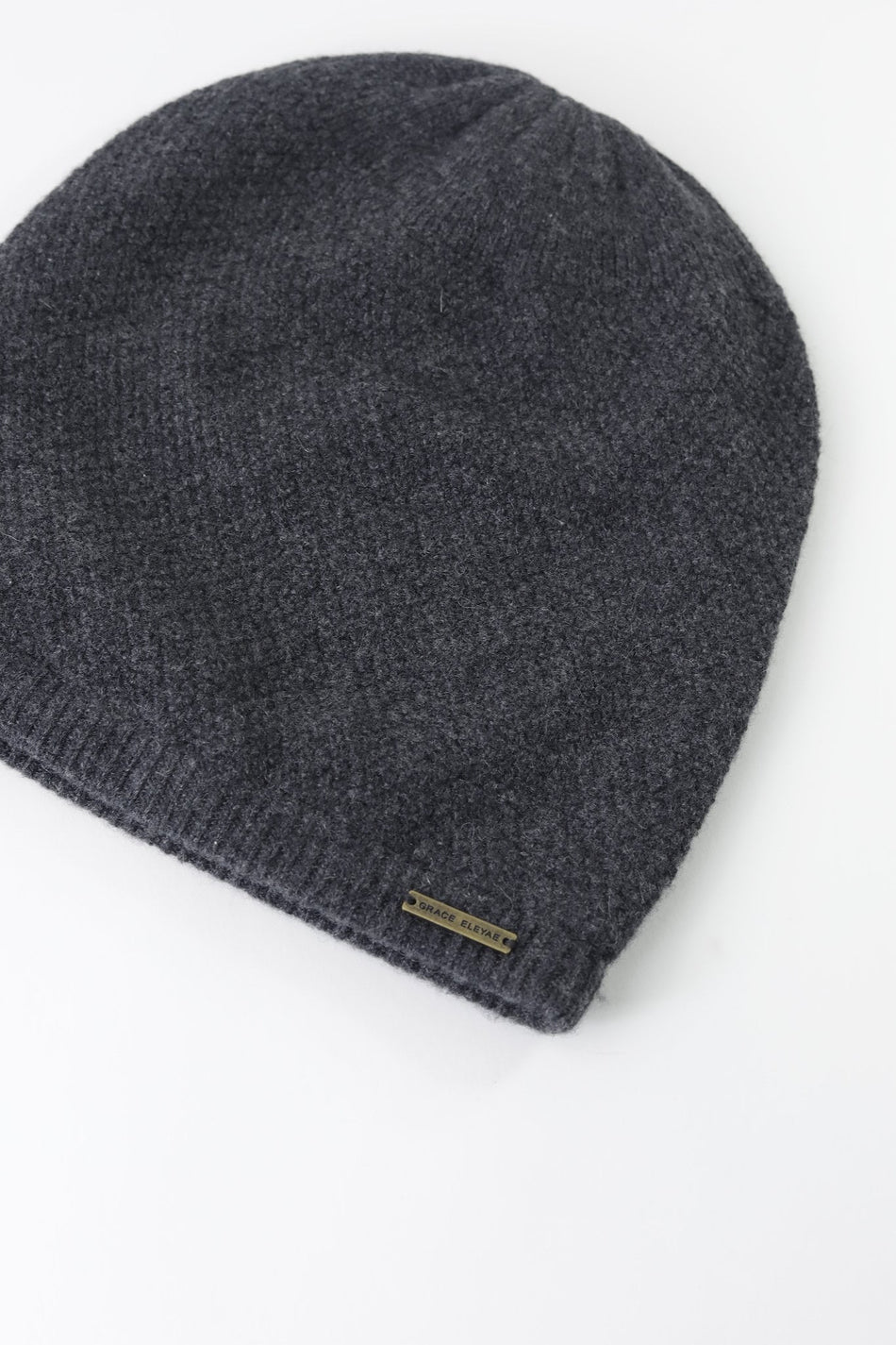 Dark Gray Cashmere Slap