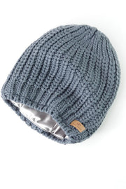 Dark Gray Slouchy Warm Slap