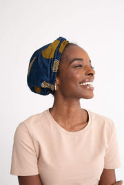 Ayah Wax Twist Turban