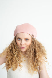 Blush Adjustable Slap | Satin-Lined Cap