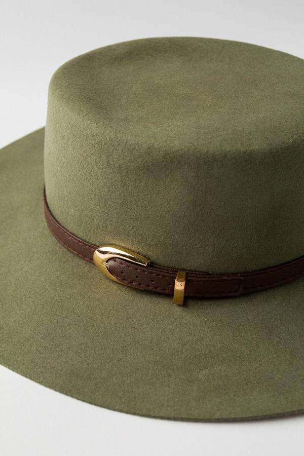 Savannah Flat Top Hat