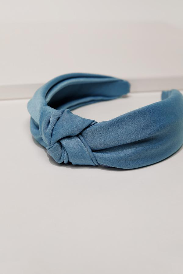Blue Knot Hard Headband
