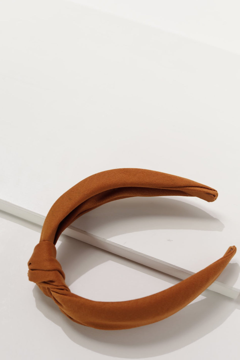 Orange Knot Hard Headband
