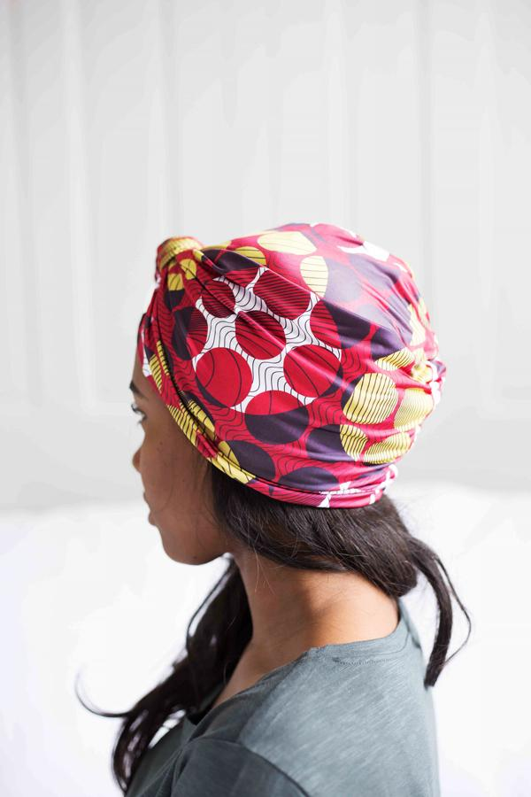 Zino Satin-Lined Knot Turban