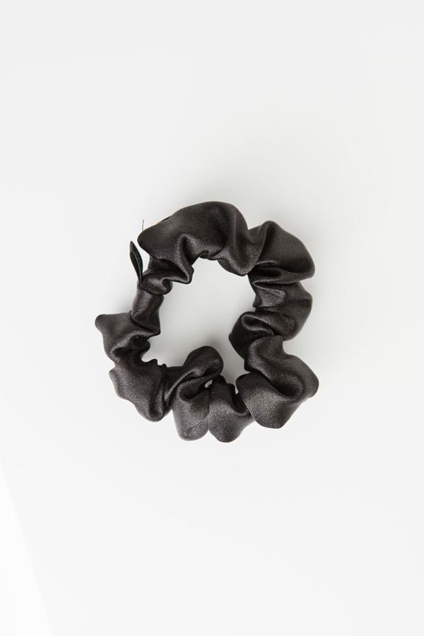 Grace Eleyae Scrunchies Satin Scrunchie - Black