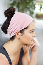Grace Eleyae Headbands Jersey Knit Headband - Blush