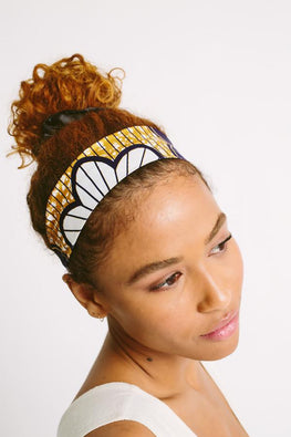 Satin-Lined Headband - Malaika