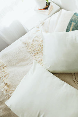 Ivory | Satin Pillowcase
