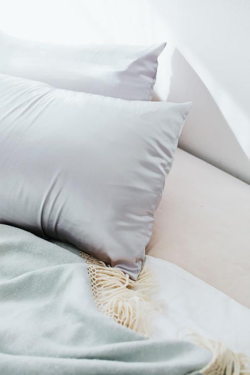 Silver | Satin Pillowcase