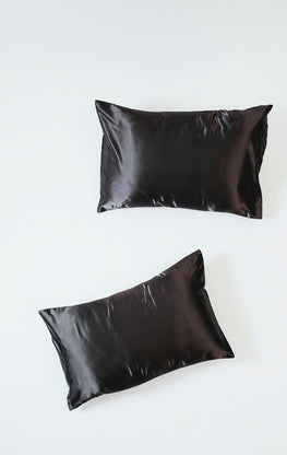 Gray | Satin Pillowcase