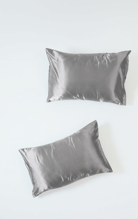 Charcoal | Silk Pillowcase