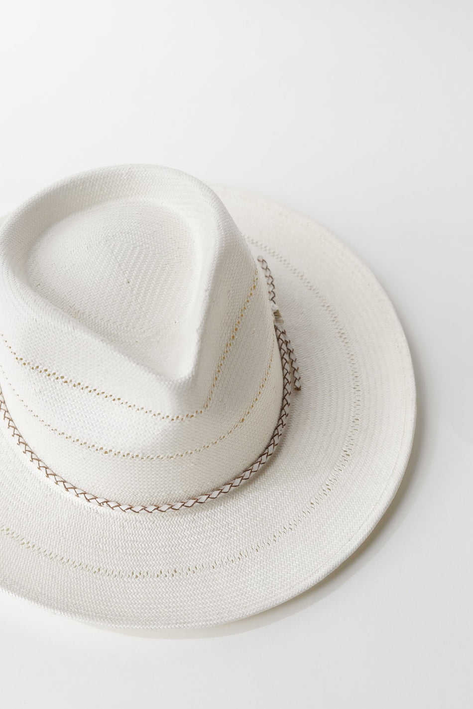 Venice Satin-Lined Straw Hat