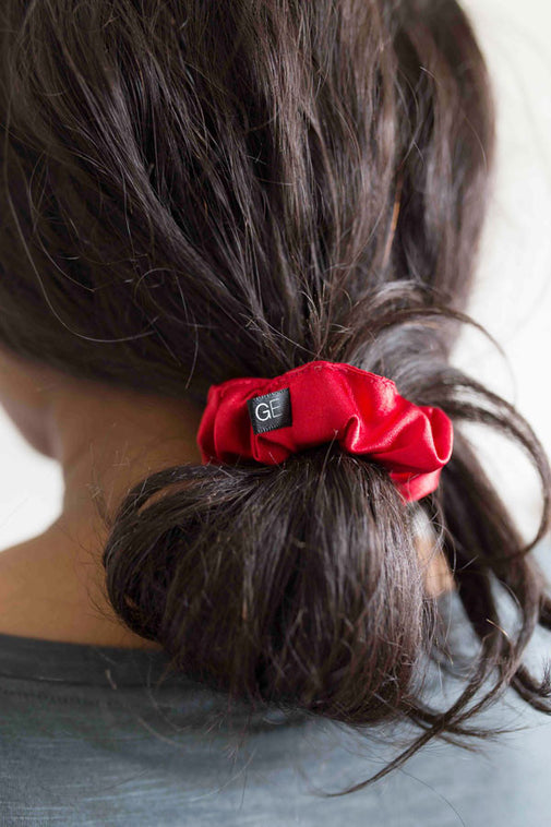 Grace Eleyae Scrunchies Satin Scrunchie - Red