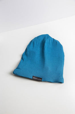 Grace Eleyae Slaps Fall Teal Slap | Satin Lined Cap