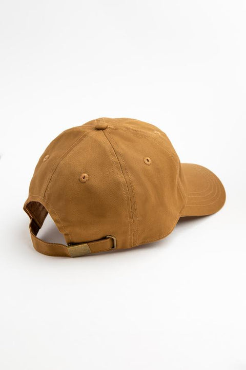Honey Satin-Lined Baseball Hat