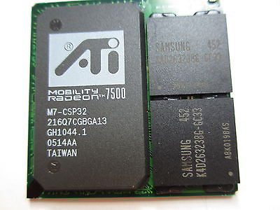 Brand New Graphic ATI MOBILITY RADEON 7500 M7-CSP32 216Q7CGBGA13 BAG IC chipset