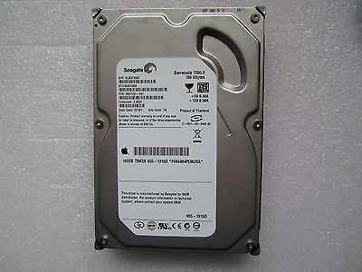 "655-1315D Apple Logo 160GB TNK2A SATA HDD Seagate 3.5"" ST3160812AS 9BD132-041"
