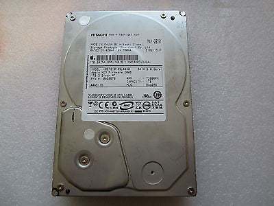 "655-1481E Apple Logo 1TB 7200RPM 3.5"" SATA Hard Drive Hitachi HDE721010SLA330"