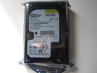 NEW SEALED 655-1259C Genuine Apple iMac WD2500JS-40NGB2 DCM DSCHNTJCA 250GB