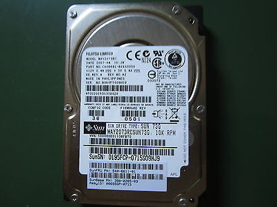 "SUN 390-0285-03 540-6611-01 73GB 2.5"" SAS HDD MAY2073RCSUN73G"