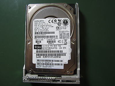 "SUN 390-0285-03 540-6611-01 73GB 2.5"" SAS HDD MAY2073RCSUN73G with Drive Tray"