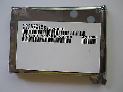 "NEW Sealed MBE2073RC 73GB Fujitsu SAS 2.5"" Hard Drive CA07069-B11000CS"