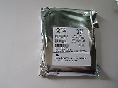 "NEW SEALED 655-1413A APPLE ORIGINAL 200GB SATA 2.5"" HARD DRIVE"