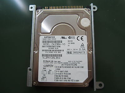 "NEW 10.06GB Hitachi 2.5"" IDE HDD DK23BA-10 B/A0K0 B/A with Bracket"