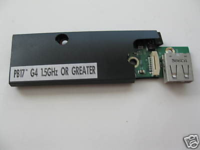 "New Apple 17"" PowerBook G4 CMOS Battery USB 820-1734-A"