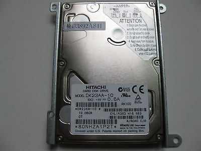 "NEW Hitachi 10GB  DK23AA-10 A/A0A0 C/A 2.5"" IDE HDD with Bracket"