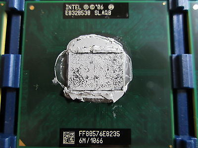 SLAQB Intel Core 2 Duo Mobile CPU E8235 pulled from new Apple iMac logic boards