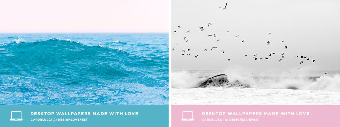 Design Love Fest - Art Featured in Desktop Wallpaper