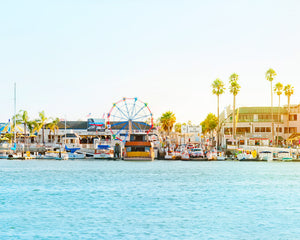 Newport Beach Balboa Fun Zone Photograph