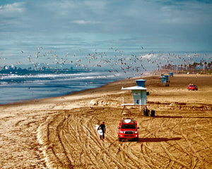 Huntington Beach Coast Photograph