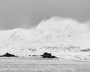 Seascape Photograph, Mavericks Half Moon Bay