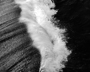 Seascape Photograph, Surf