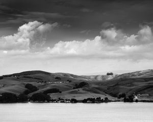 Point Reyes National Seashore Photograph, Hillsides over Tomales Bay