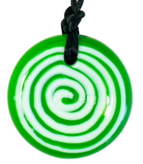 Green swirl goblin disc