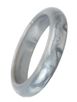 Bubba Bangle - Orion (Silver Mottle)