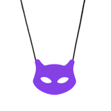 Chew Jewelry - Cat Pendant Puuurple Chewigem Canada