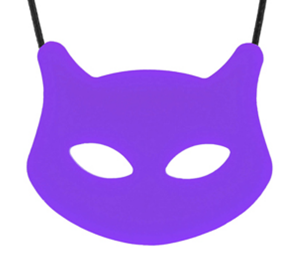 Cat Pendant & Twister Combo -Purrple