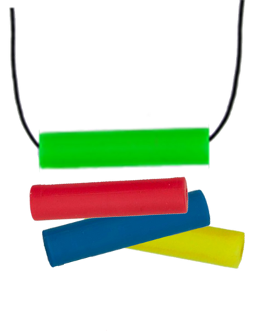 Chubes Necklace - Rainbow