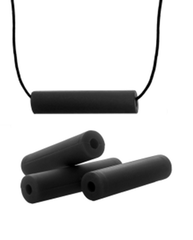 Chubes Necklace - Rocket (Black Matte)