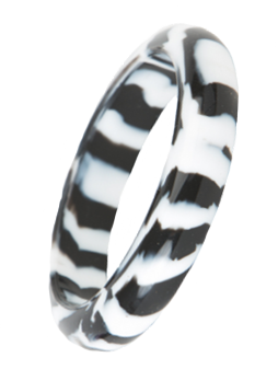 Bubba Bangle - Safari (Black/White Ripple)